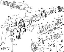 Dewalt Dw B on Electric Drill Switch Wiring Diagram